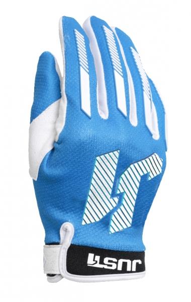 Dětské moto rukavice JUST1 J-FORCE X  modré S