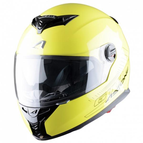 Moto přilba ASTONE GT800 fluo žlutá XS