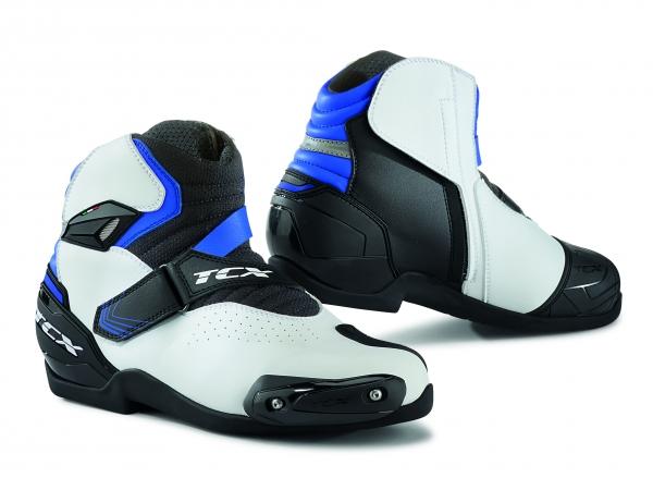 Moto boty TCX ROADSTER 2 AIR bílo/černo/modré 38