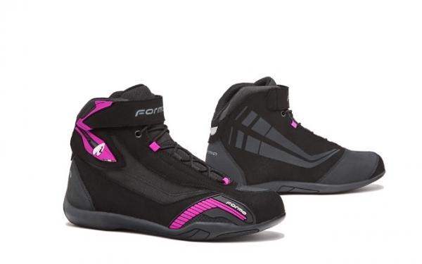 Dámské moto boty FORMA GENESIS LADY černo/růžové 37