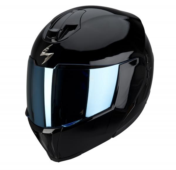 Moto přilba SCORPION EXO-910 AIR černá lesk XS