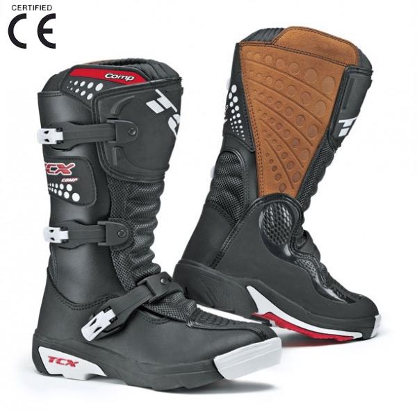 Dětské moto boty TCX COMP KID černé 40
