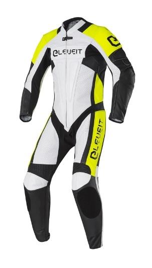 Moto kombinéza ELEVEIT SP-01 (RC PRO) jednodílná bílo/žlutá 54